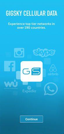 GigSky app - thephoneplans.com