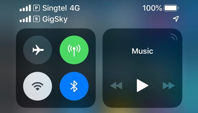 eSIM on iPhone XR or XS with the GigSky app - Phone-plans.co