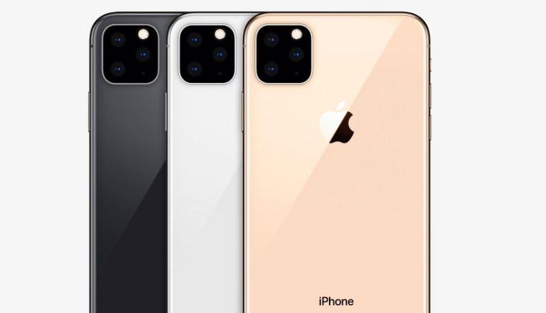 iPhone 2019 render - thephoneplans.com