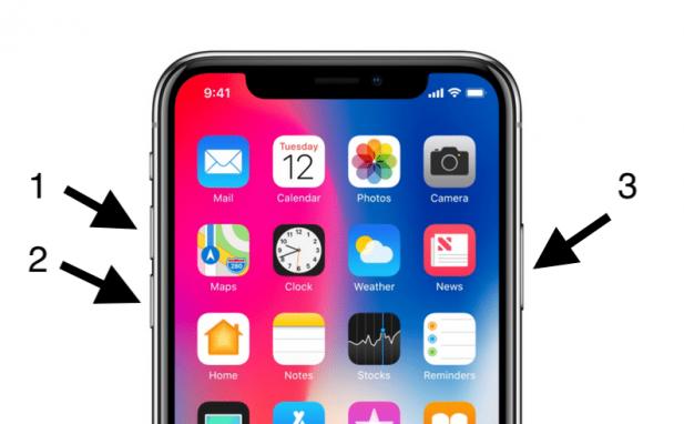 iPhone X Settings