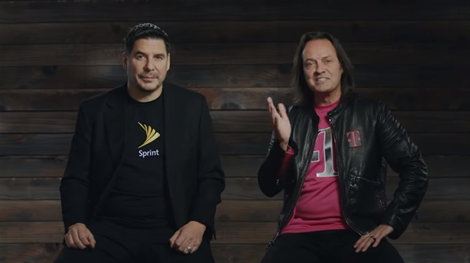 Sprint CEO & Legere CEO of T-Mobile - Phone Plans